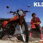 Kawasaki KL 250 (1974-75)