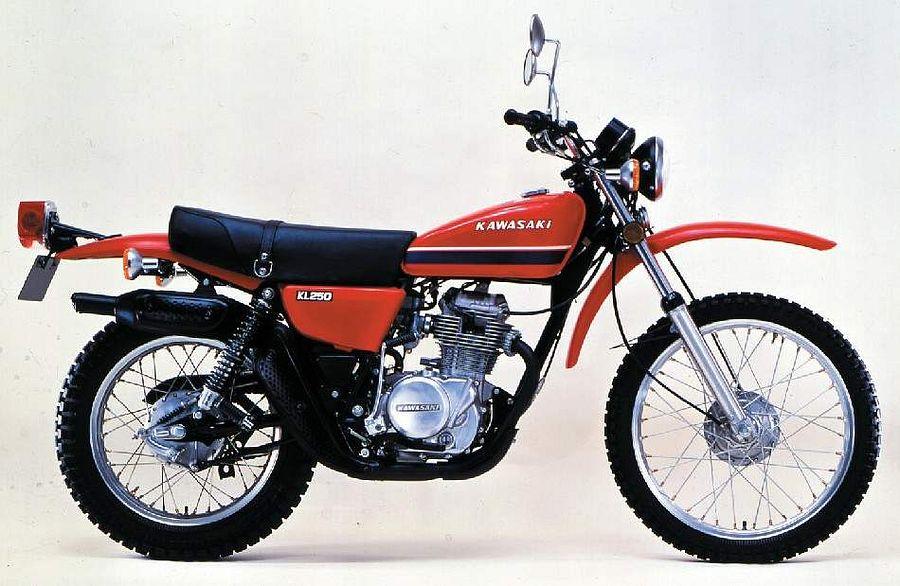 Kawasaki KL 250 (1976-77)