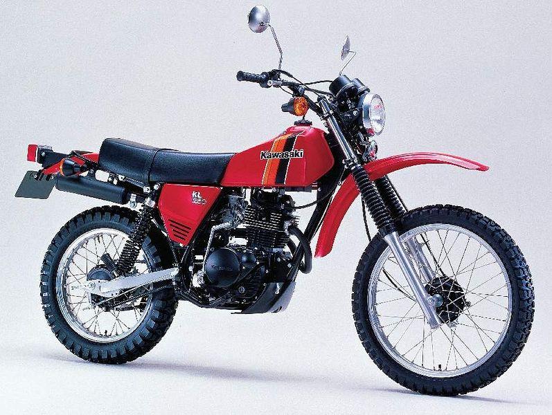 Kawasaki KL 250 (1980-81)