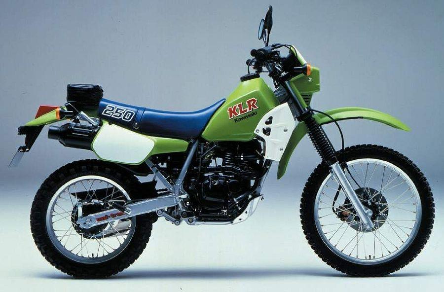 Kawasaki KL250R (1984-86)