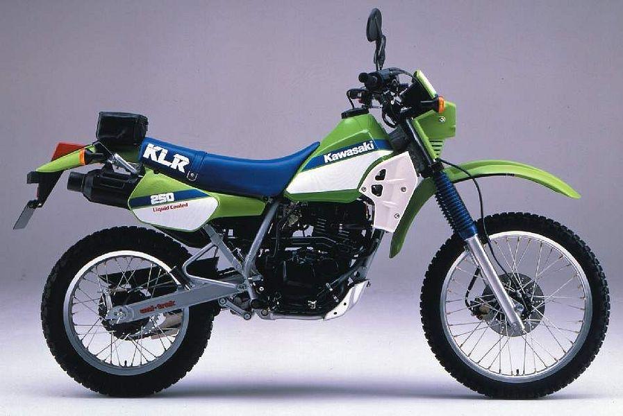 Kawasaki KL250R (1987-88)