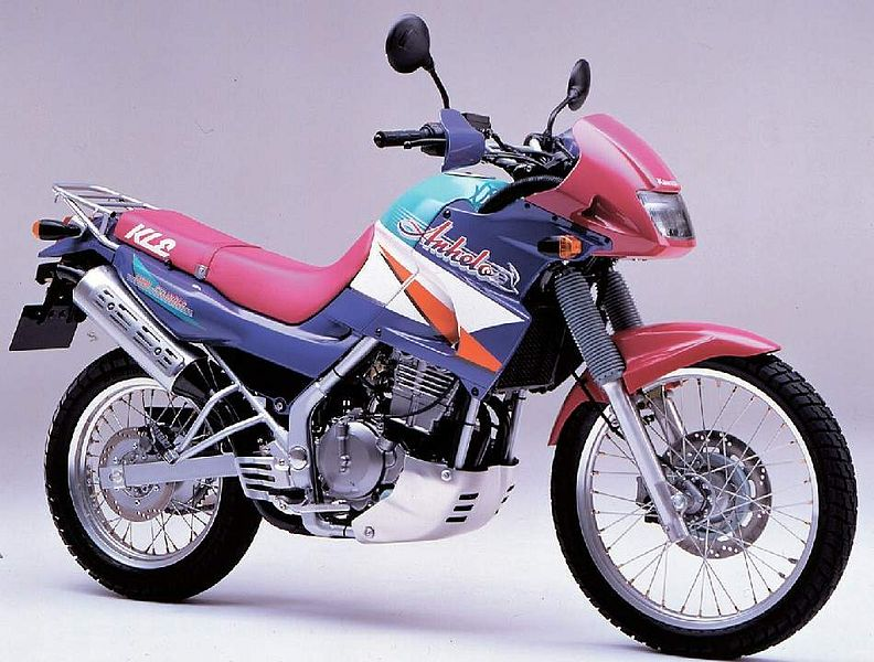 kawasaki KLE250 (1993)
