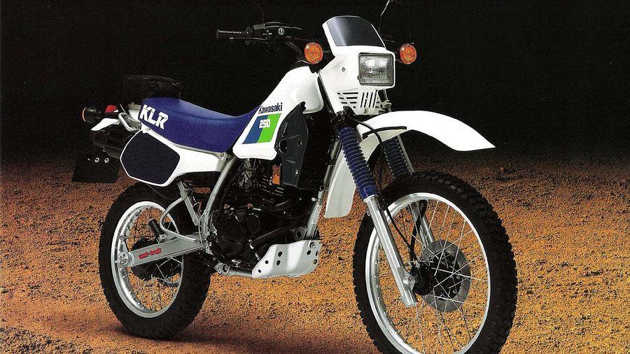 Kawasaki KL250R (1989-90)