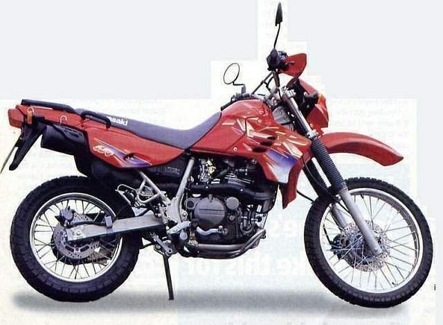 Kawasaki KLR650 (1995-96)