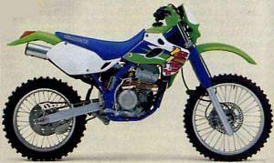 Kawasaki KLX 300 R (1997-99)
