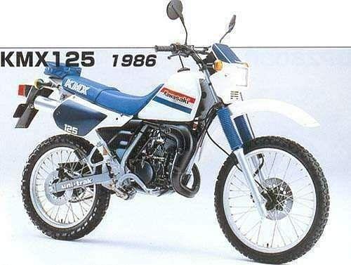 Kawasaki KMX125 (1986-89)