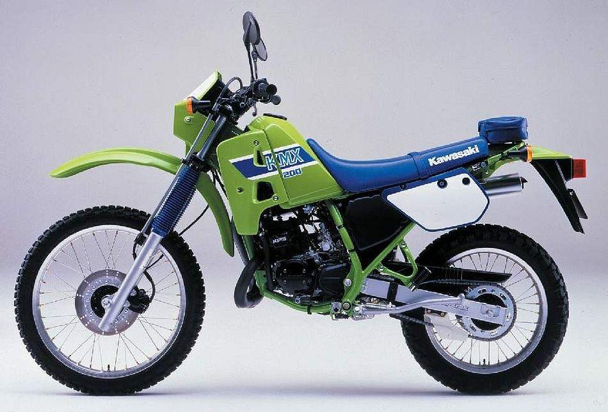 Kawasaki KMX 200 (1987-88)