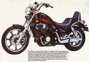 Kawasaki VN 700 Vulcan (1986-90)