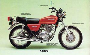 Kawasaki Z200 (1978-79)