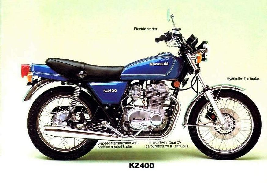 Kawasaki Z400 (1976-77)