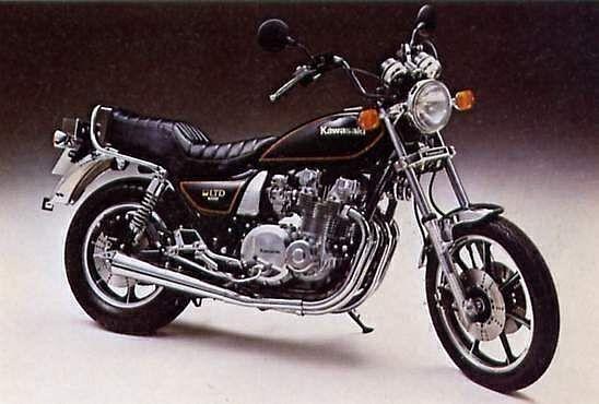 Kawasaki Z1000LTD (1980-82)
