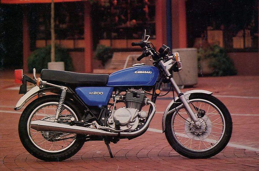 Kawasaki Z200 (1976-77)