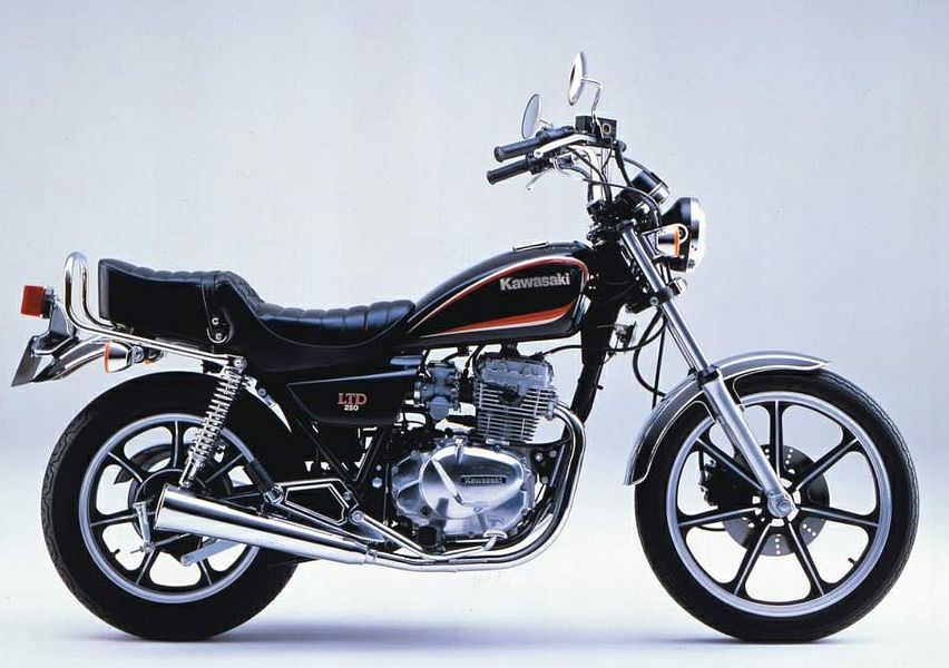 Kawasaki Z250 LTD (1986-87) - MotorcycleSpecifications com