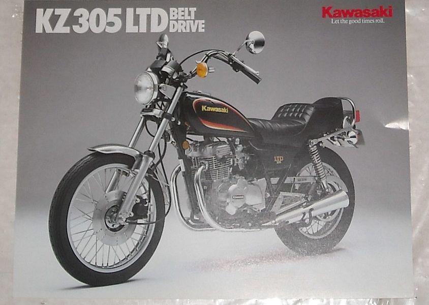 Kawasaki Z305CSR (1974-75)