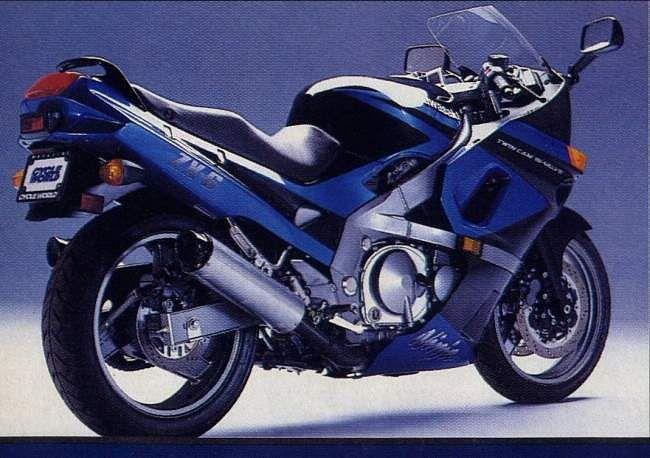Kawasaki GPX600R (1991-92)