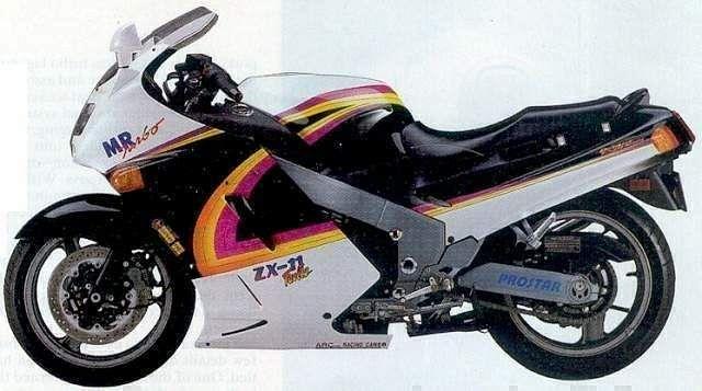 Kawasaki ZZR1100 (1992)