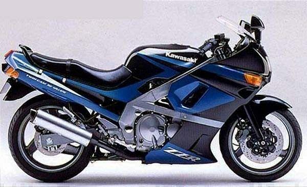Kawasaki ZZR400 (1992-93)