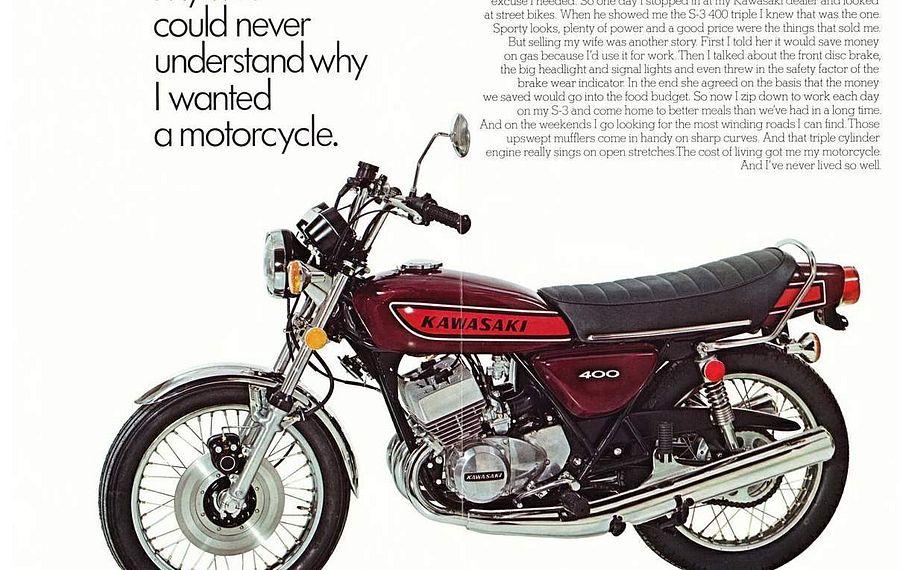 Kawasaki KH 400 (1975)