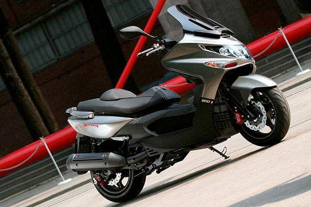 Kymco Xciting 500Ri (2010-11)