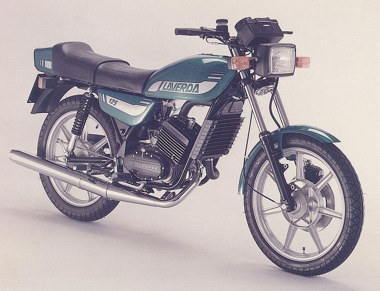 Laverda 125 LZ (1981-84)