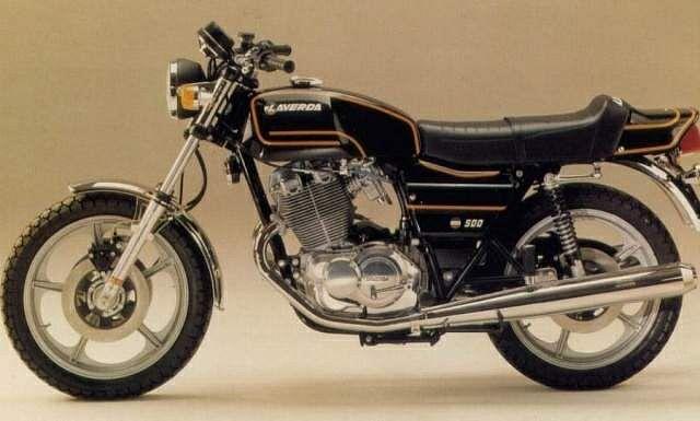Laverda 500 Alpino S (1978)