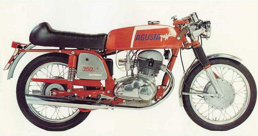 MV Agusta 350 Sport B Elettronica (1972-74)