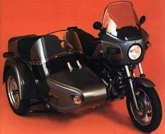 Moto Guzzi 1000SPII TR500 N4 (1985)
