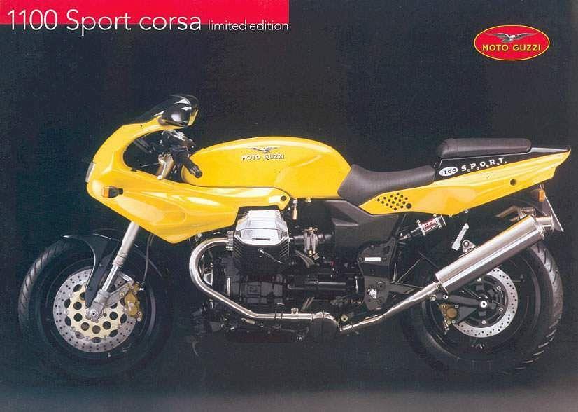 Moto Guzzi 1100 Sport Corsa (1998-00)
