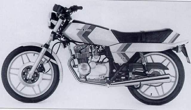 Moto Guzzi 125 2C 4T (1979-81)