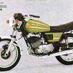 Moto Guzzi 250TS (1976)