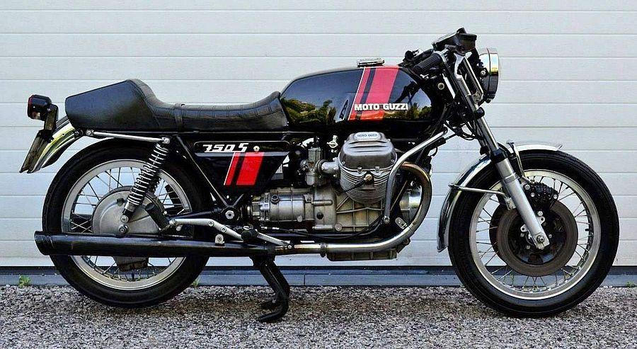 Moto Guzzi 750S (1973)