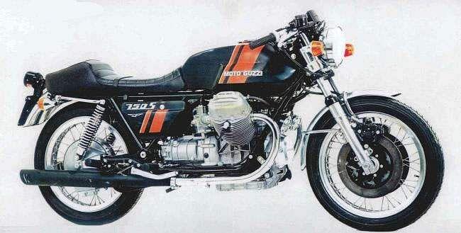 Moto Guzzi 750S3 (1975)