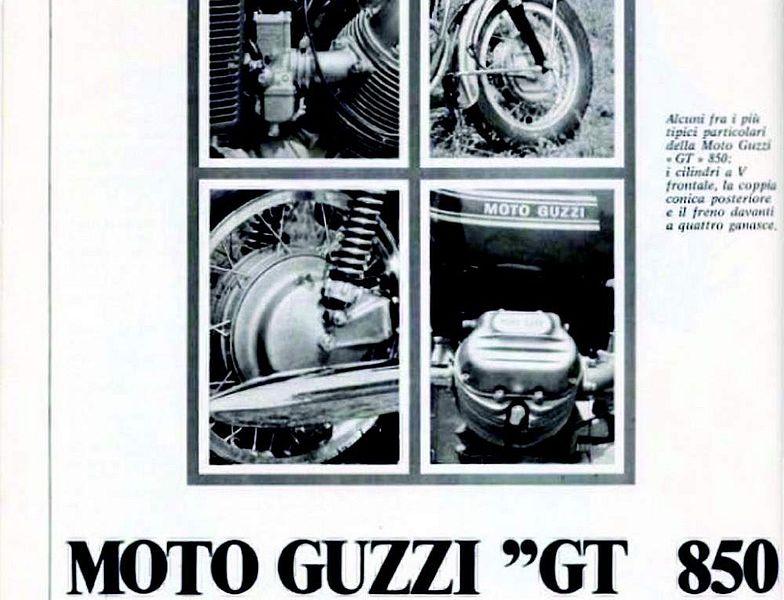 Moto Guzzi 850GT (1972)