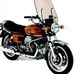 Moto Guzzi 850 T3 Windshield (1975)