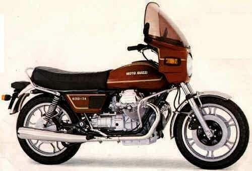Moto Guzzi 850T4 (1980-82)