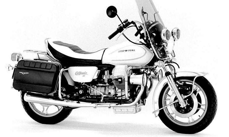 Moto Guzzi V1000 California II Polizia (1981)