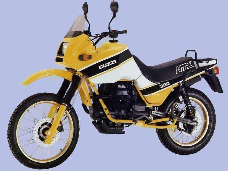 Moto Guzzi NTX 350 (1987)