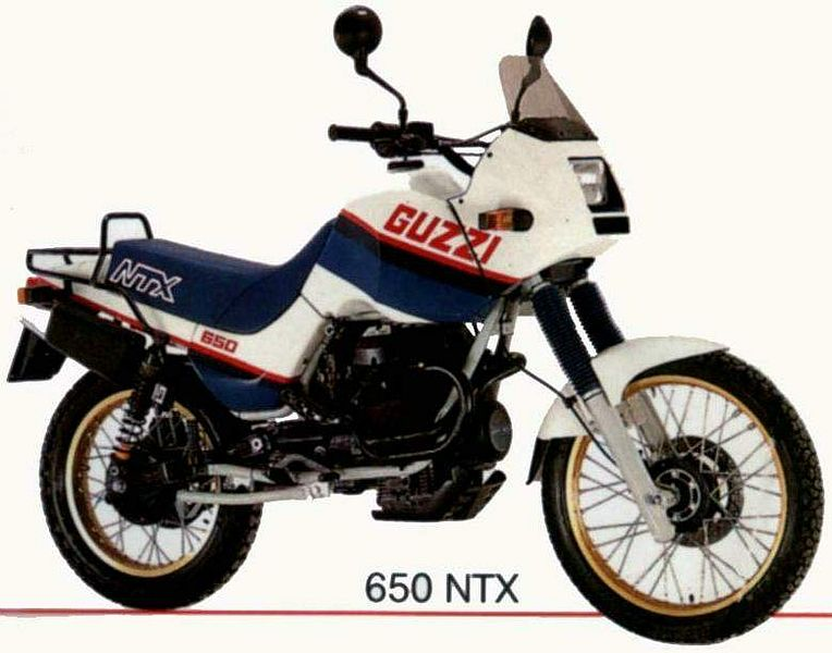 Moto Guzzi NTX 650 (1987-89)