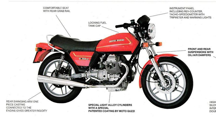 Moto Guzzi V 50III (1981)