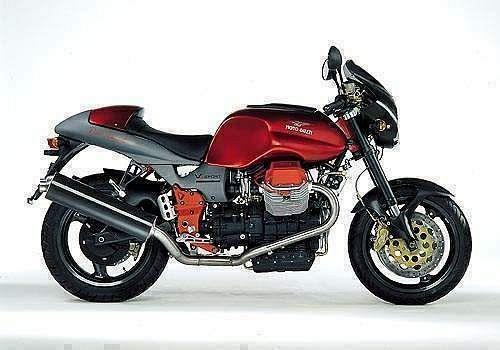 Moto Guzzi V 11 Sport Rosso Mandello (2001-02)