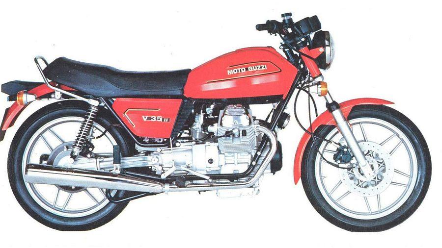 Moto Guzzi V 35II (1981-84)