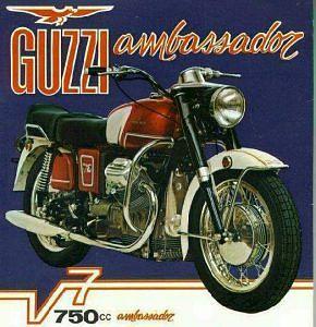 Moto Guzzi V-7 750 Ambassador (1971)