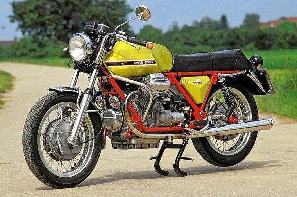 Moto Guzzi V7 750 Sport Verde Legnano (1971)