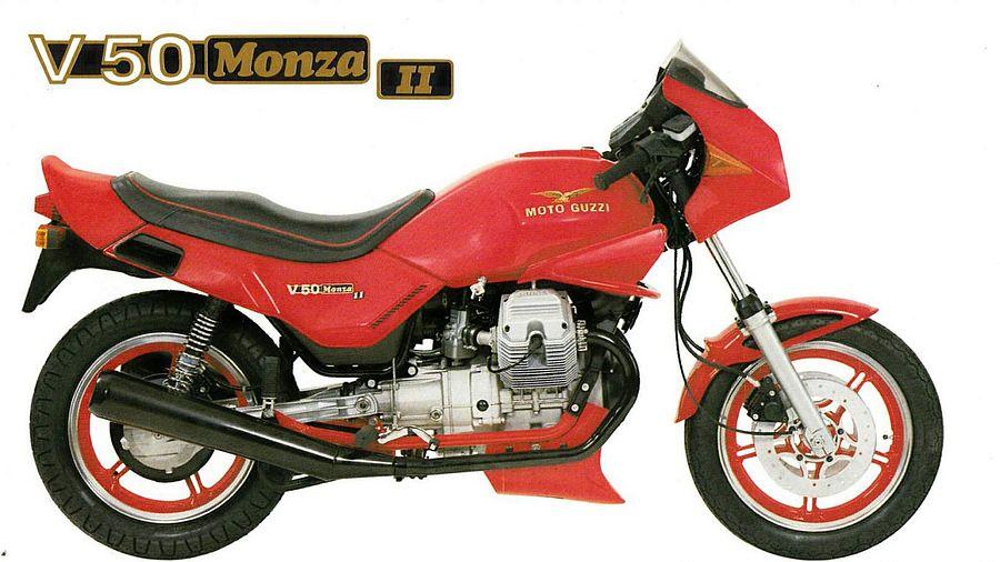 Moto Guzzi V 50 Monza II (1983-84)