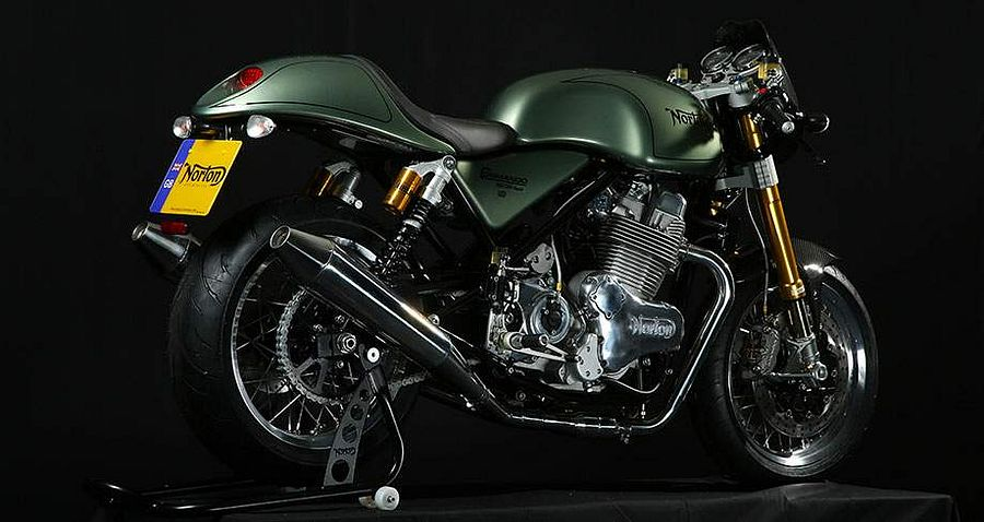 Norton Commando 961 cafe racer MKII (2018)