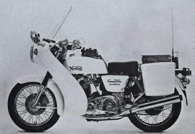 Norton Commando Interpol 1 (1988)