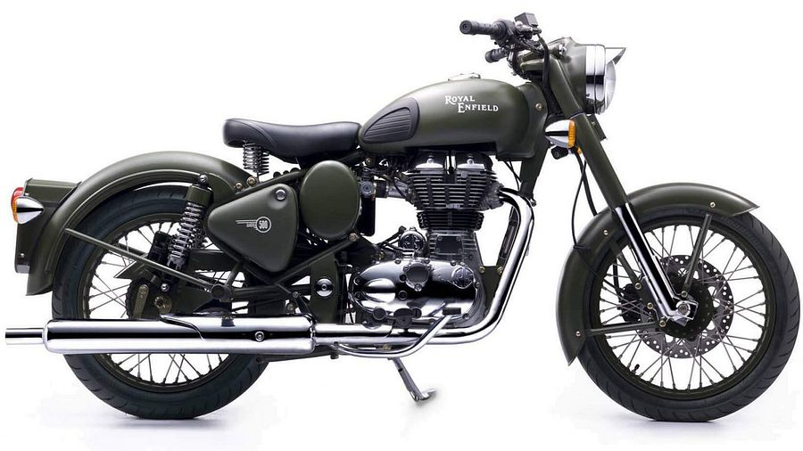 Royal Enfield Bullet 500 Classic Battle Green (2017)