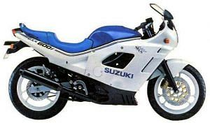 Suzuki GSX 600F (1998-89)