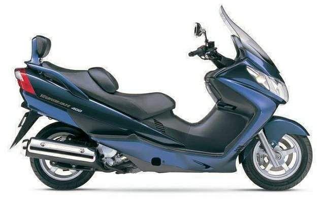 Suzuki AN 400 Burgman (2005-06)