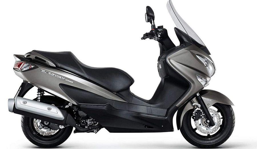 Suzuki AN 200 Burgman (2016-18)